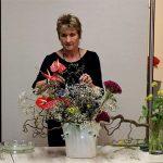 Ikebana-Vorführung in der Volkshochschule Biberach